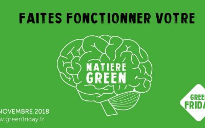 Green Friday – le contre point au Black Friday